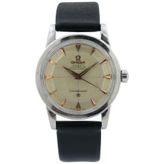 Omega Constellation 2492-1, Gold Dial, Certified and Warranty
