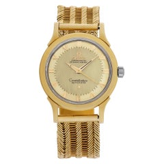 Omega Constellation 2852/2853 18k Gold Dial Automatic Watch