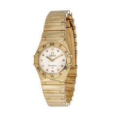 Omega Constellation 3 Women's Watch in 18kt Yellow Gold