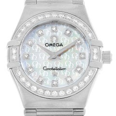 Omega Constellation 95 Mini Diamond Ladies Watch 1460.75.00