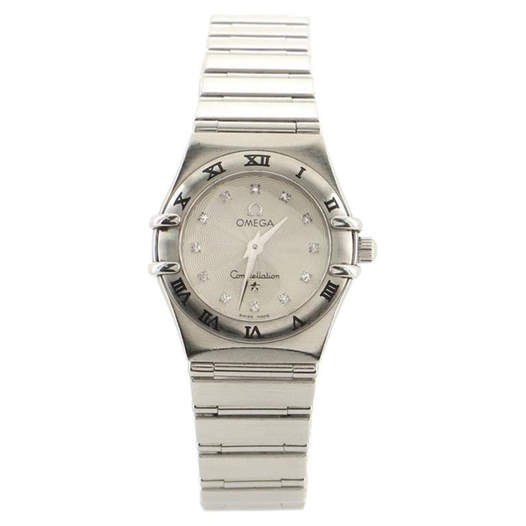 Omega Constellation 95 Quartz Watch Stainless Steel