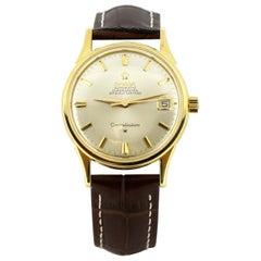 Omega Constellation Automatic 18 Karat Gold Men's Wristwatch, 1965