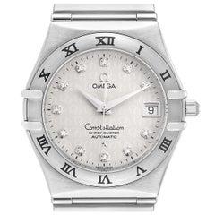 Omega Constellation Classic Steel Diamond Men's Watch 1504.35.00