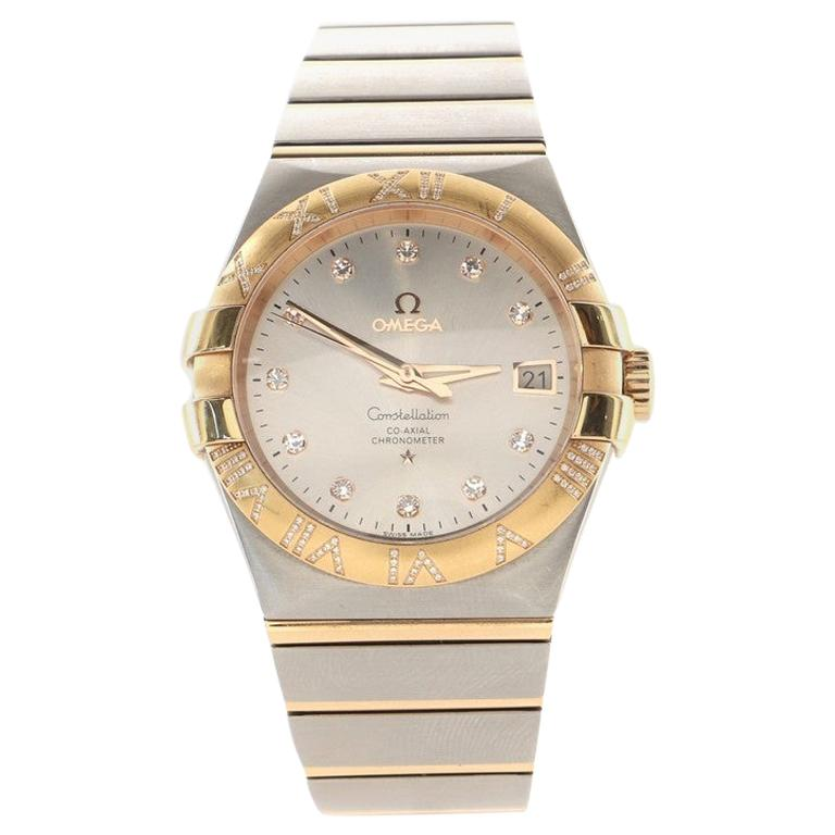 Omega Constellation Co-Axial Chronometer Automatic Watch Stainless Steel