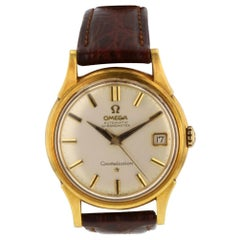 Omega Constellation Constellation, Silver Dial, Certified and Warranty