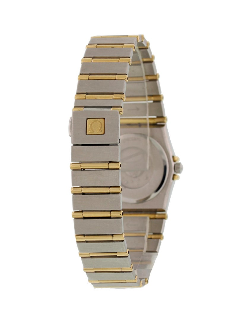 Women's Omega Constellation Diamond Dial Ladies Watch For Sale