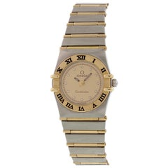 Omega Constellation Diamond Dial Ladies Watch