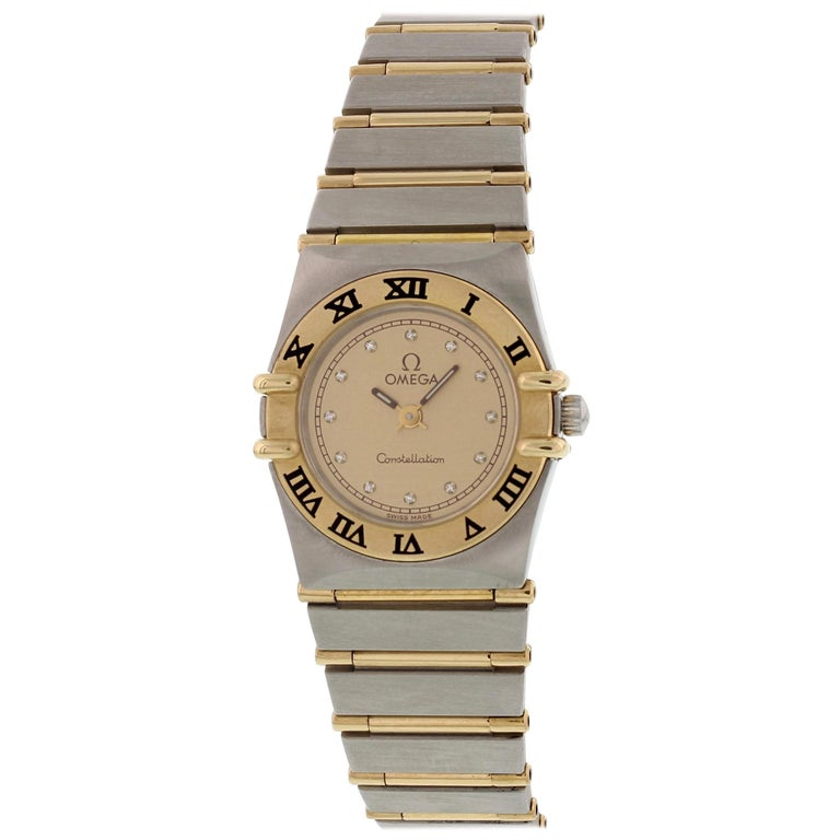 Omega Constellation Diamond Dial Ladies Watch For Sale