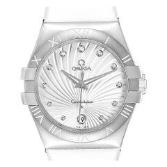 Omega Constellation Diamond Ladies Watch 123.12.35.60.52.001 Box Card