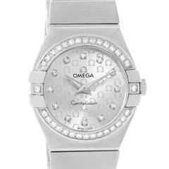 Omega Constellation Diamond Ladies Watch 123.15.27.60.52.001