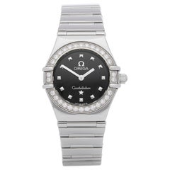 Omega Constellation Diamond Stainless Steel 1465.51.00