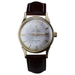Omega Constellation Manual Winding Wristwatch in 18 Karat Gold Case, 1960s