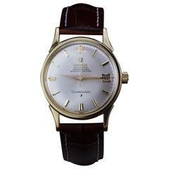Omega Constellation Manual Winding Wristwatch in 18 Karat Gold Case, 1960s