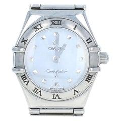Omega Constellation My Choice Ladies Wristwatch Stainless Quartz 1-Year Warranty