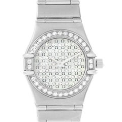 Omega Constellation My Choice Mini Diamond Steel Watch 1455.77.00