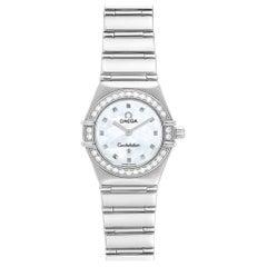 Omega Constellation My Choice Mini Diamond Steel Watch 1465.71.00