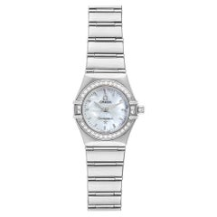 Omega Constellation My Choice Mini Diamond Steel Watch 1466.71.00