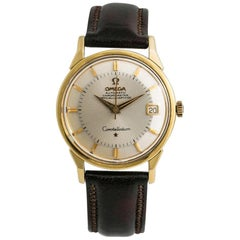 Omega Constellation No-Ref, Silver Dial, Certified and Warranty