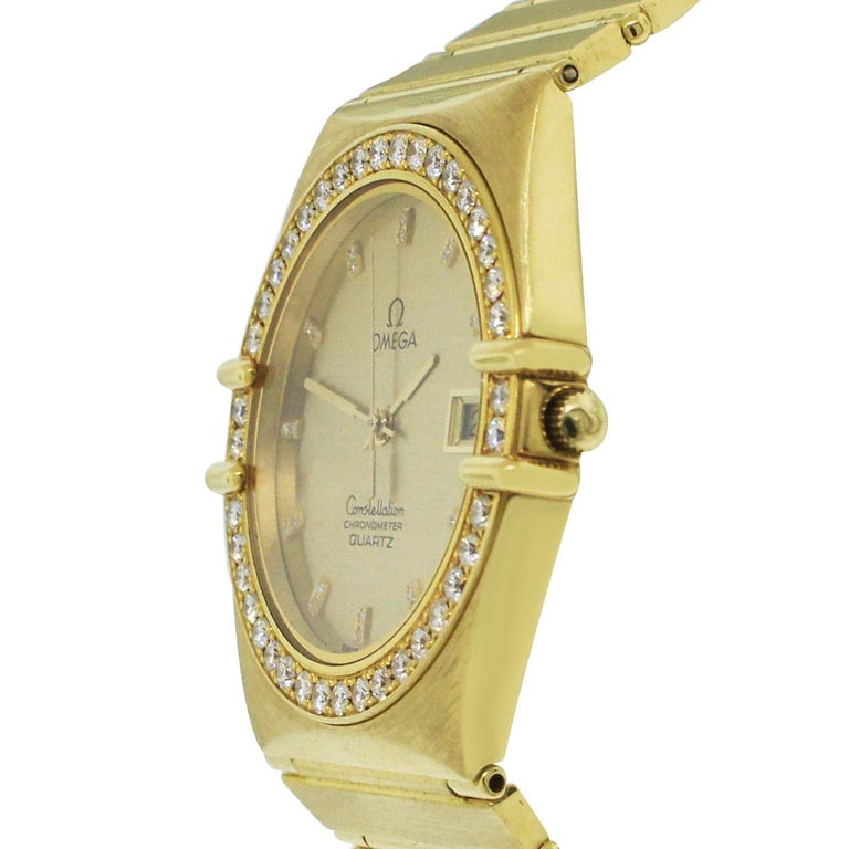 Women's or Men's Omega Constellation Quartz Watch