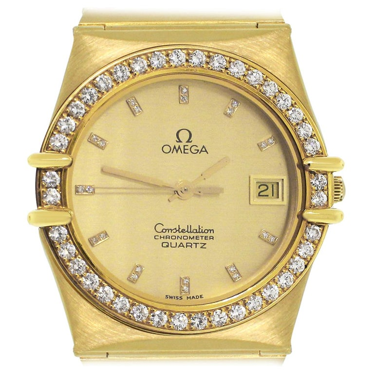 Omega Constellation Quartz Watch