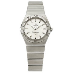 Omega Constellation Silver Dial Steel Timepiece