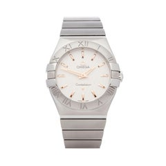 Omega Constellation Stainless Steel 12310276002004 Wristwatch