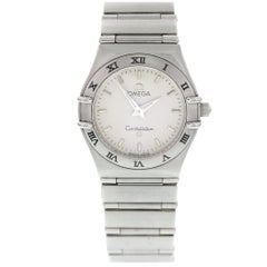 Omega Constellation Stainless Steel Ladies Watch