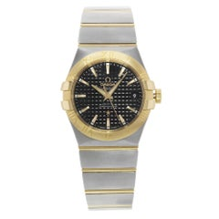 Omega Constellation Steel Yellow Gold Automatic Men's Watch 123.20.35.20.01.002