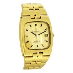 Omega Constellation Vintage Automatic 18 Karat Gold Chronometer Wristwatch 1960s