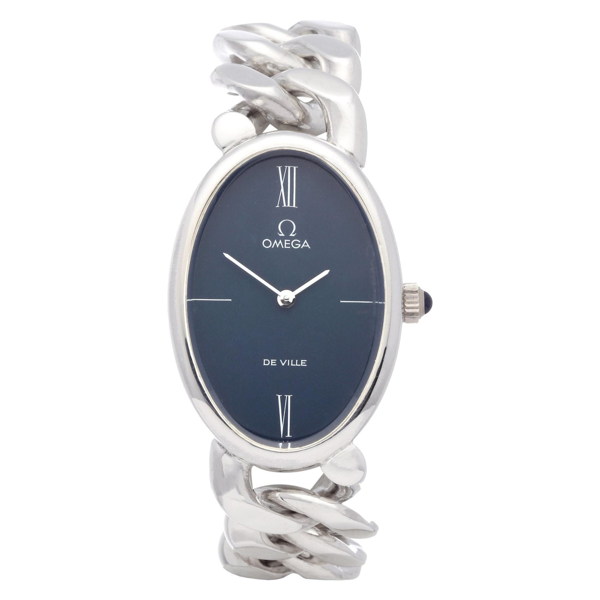 Omega De Ville 0 0 Ladies Silver D'Argent Watch