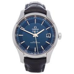 Omega De Ville 0 443.33.41.21.03.001 Men's Stainless Steel Watch