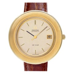 Omega De Ville 166.094, Gold Dial, Certified and Warranty