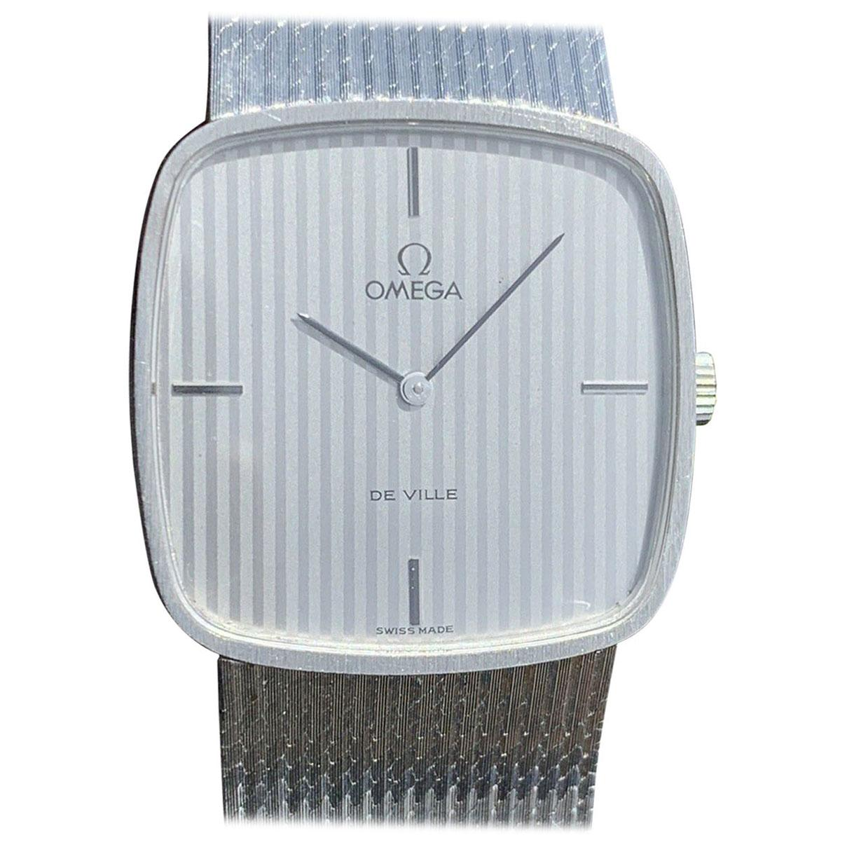 Omega De Ville 18 Karat White gold Manual Winding Watch