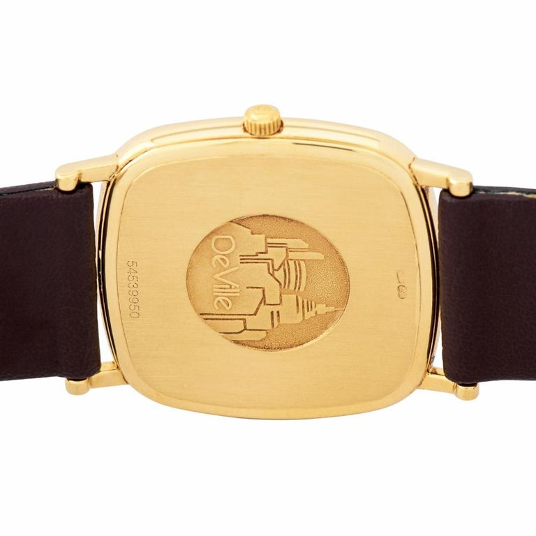 Men's Omega De Ville 3953378, Silver Dial, Certified and Warranty For Sale