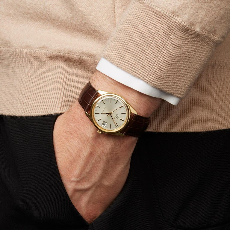 Omega De Ville Cal.1012 18 Karat Yellow Gold 1012 For Sale 7