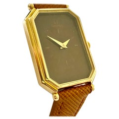 OMEGA de Ville Gold Ladies Watch 1980, Leather Strap