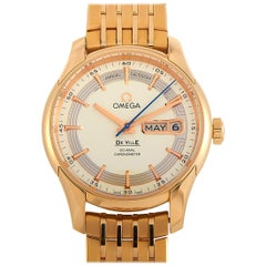 Omega De Ville Hour Vision Co-Axial Annual Calendar Watch 431.60.41.22.02.001
