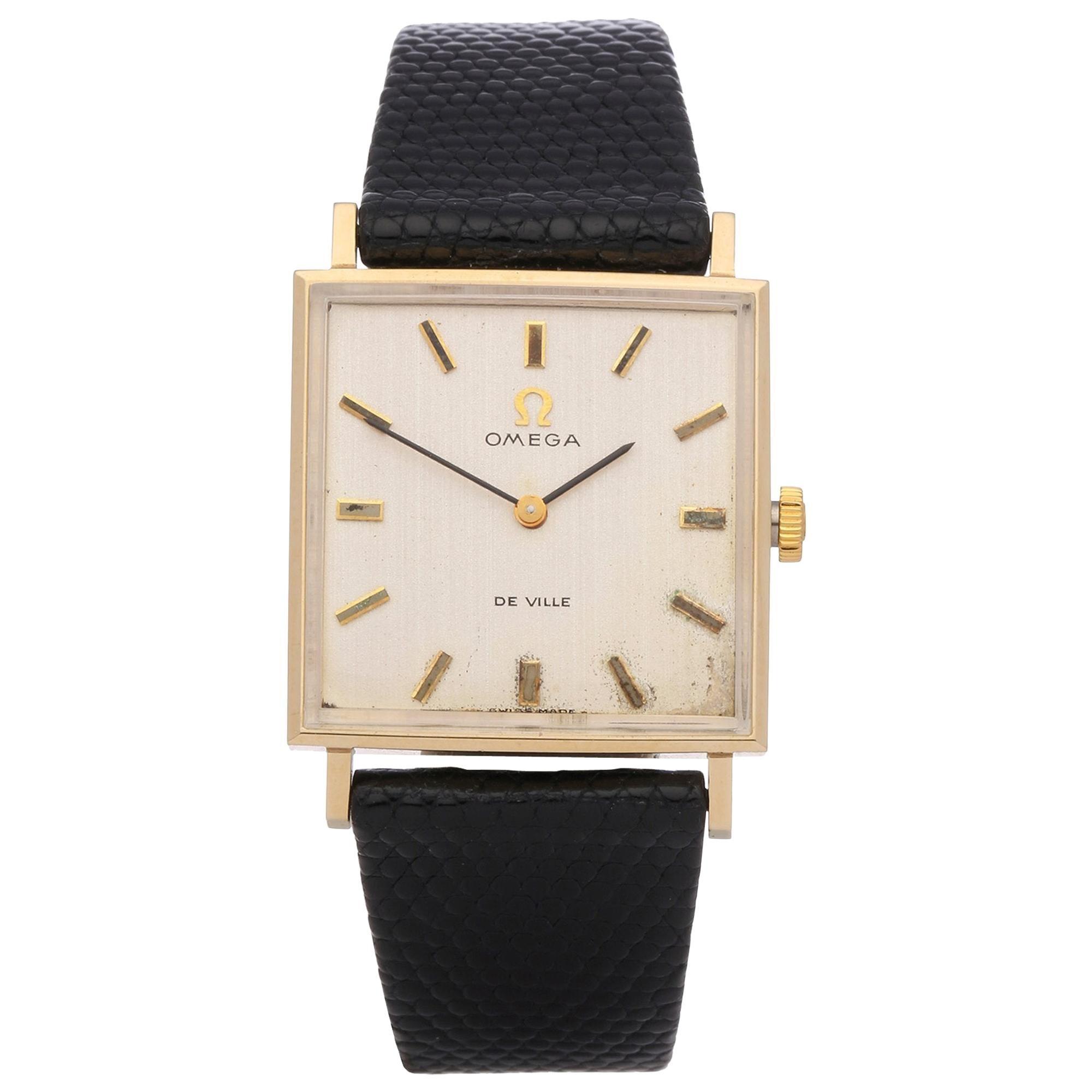Omega De Ville Men's Yellow Gold Watch