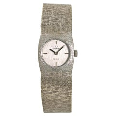 Omega De Ville No-Ref#, Silver Dial, Certified and Warranty