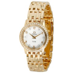 Omega De Ville Prestige 4175.75.00 Women's Watch in 18 Karat Yellow Gold