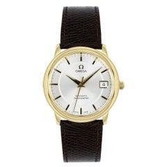 Omega De Ville Prestige Chronometer Yellow Gold Watch