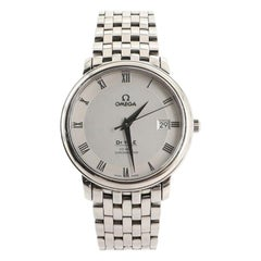 Omega De Ville Prestige Co-Axial Chronometer Automatic Watch Stainless Steel