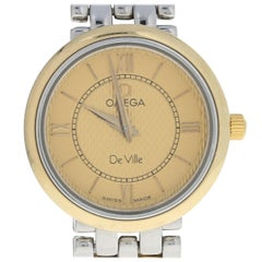 Omega De Ville Prestige Ladies Watch, Stainless and 18k Gold 2 Yr Wnty 56363998