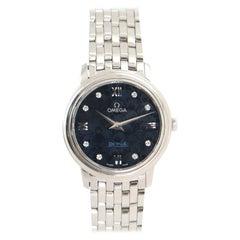 Omega De Ville Prestige Orbis Quartz Watch Stainless Steel with Diamond Markers