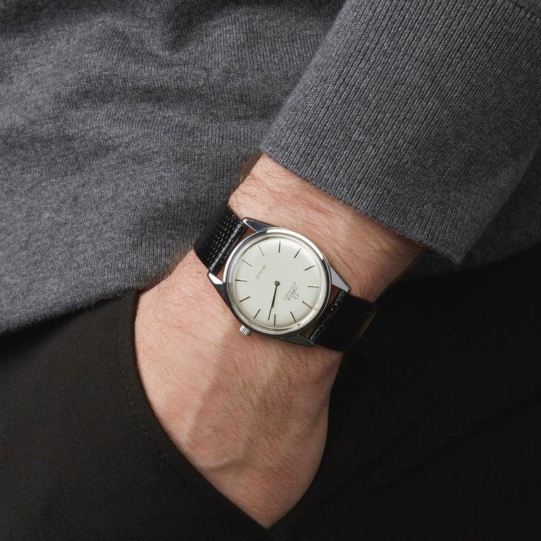 Omega De Ville Stainless Steel Wristwatch 8