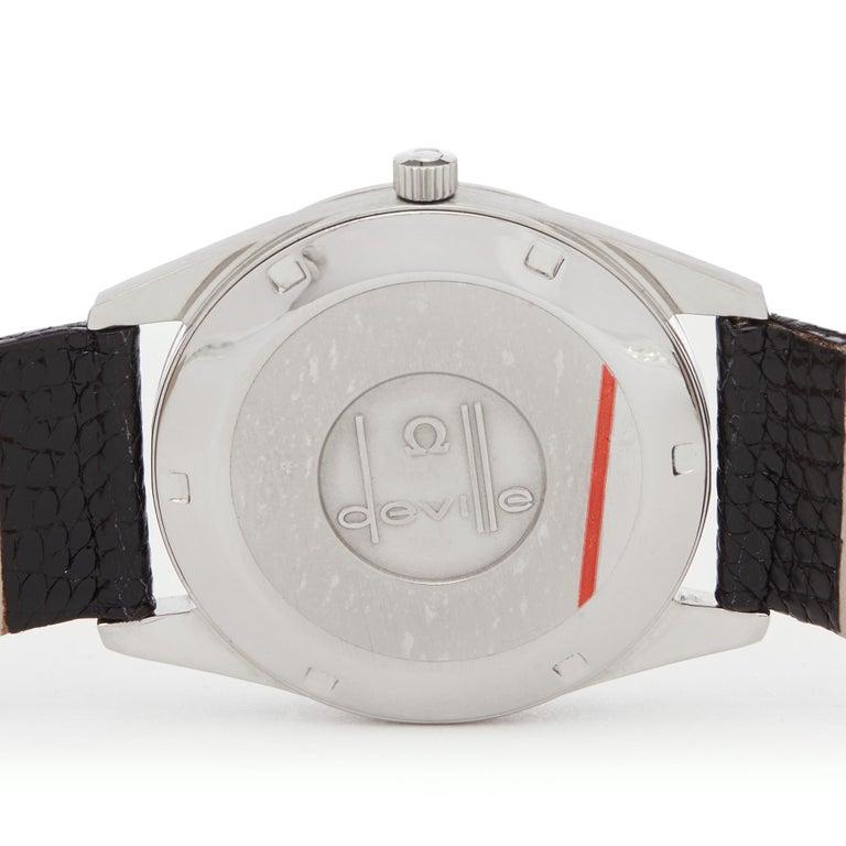 Omega De Ville Stainless Steel Wristwatch 3