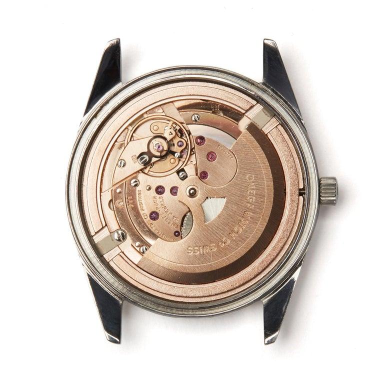 Omega De Ville Stainless Steel Wristwatch 5