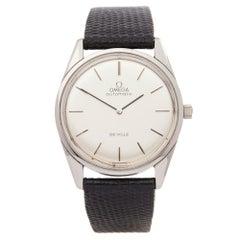 Omega De Ville Stainless Steel Wristwatch