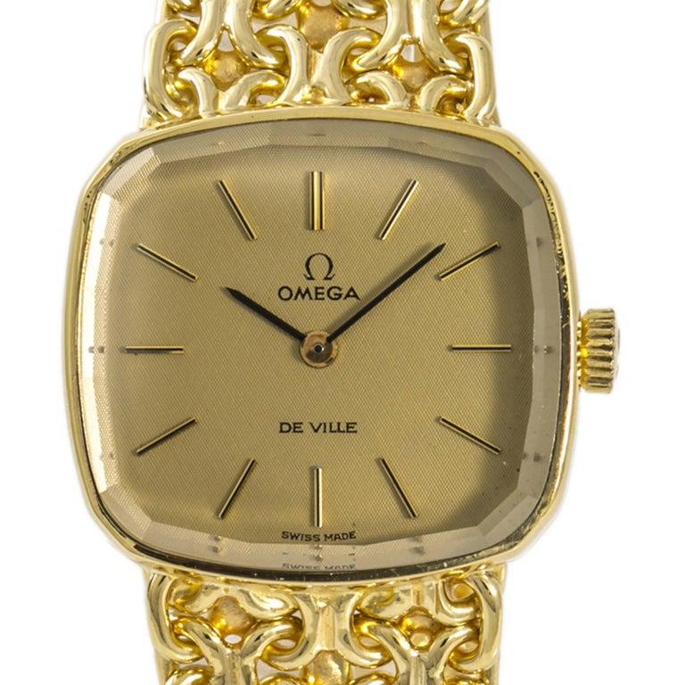 Women's Omega De Ville3240, Black Dial Certified Authentic For Sale