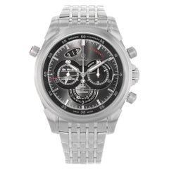 Omega DeVille Chronograph Steel Grey Dial Automatic Watch 422.10.44.51.06.001